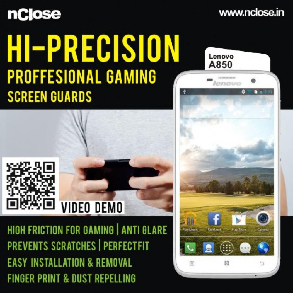 Domo Nclose Sg424g Screen Guard For Lenovo A850 Hi Precision S850 Quadcore Processor Professional Gaming