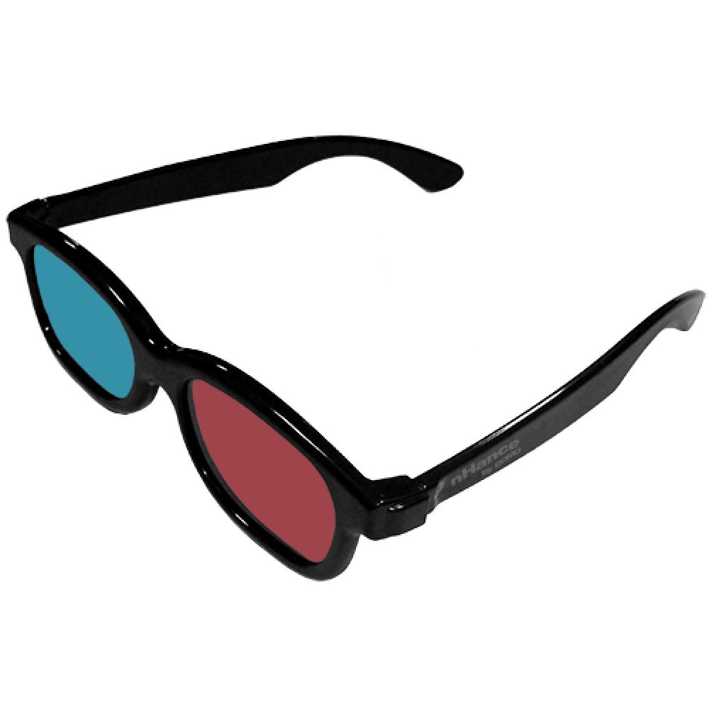 D Glasses Magenta Cyan